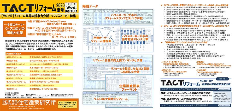 季刊TACTリフォーム―2020年夏号
